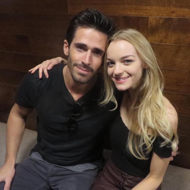 Brandon Beemer and Olivia Rose Keegan -- Shawn and Claire, DAYS OF OUR LIVES