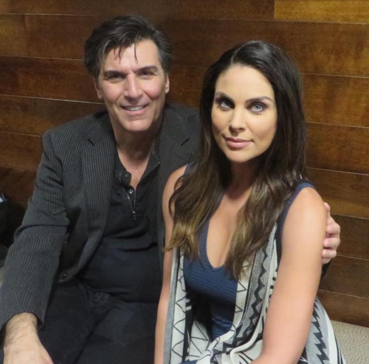 Vincent Irizarry and Nadia Bjorlin -- Deimos Kiriakis and Chloe Lane, Days of our Lives