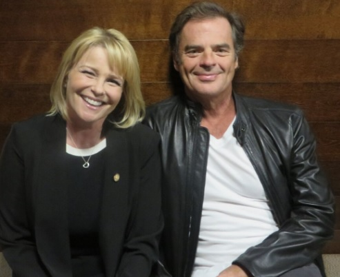 Judi Evans and Wally Kurth -- Adrienne and Justin, DAYS OF OUR LIVES