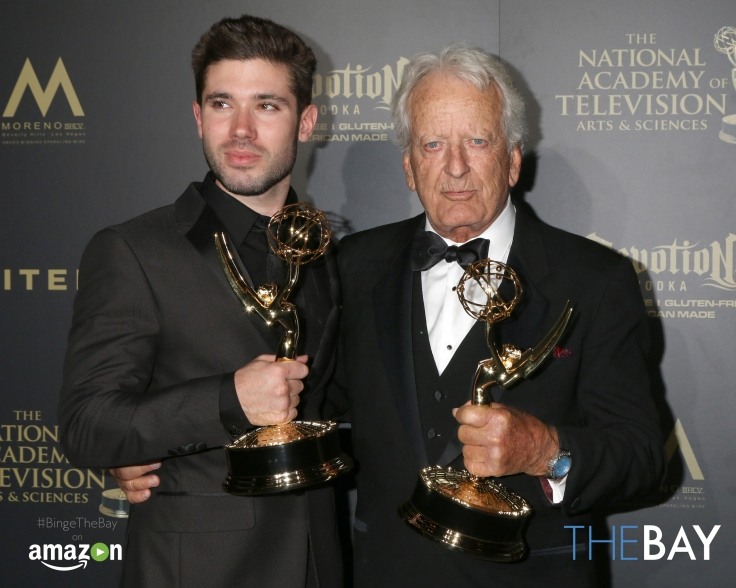Pasadena, CA, USA. 29th Apr, 2017. LOS ANGELES - APR 29: Kristos Andrews, Nicolas Coster at the 2017 Creative Daytime Emmy Awards at the Pasadena Civic Auditorium on April 29, 2017 in Pasadena, CA Credit: Kathy Hutchins/via ZUMA Wire/ZUMA Wire/Alamy Live