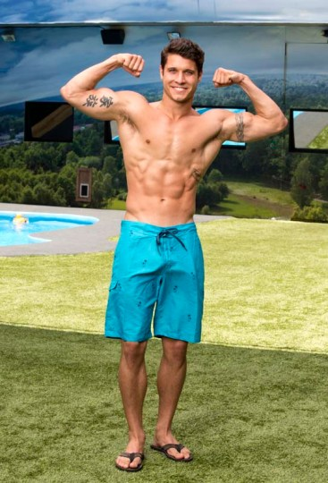 Cody Calafiore, 23, a Sales Account Executive from Hackensack, N.J., who currently lives in Howell, N.J., will compete for $500,000 this summer on BIG BROTHER which has a two night premiere Wednesday, June 25(8:00-9:00 PM, ET/PT) and Thursday, June 26 (9:01 – 10:00 PM ET/PT), on the CBS Television Network. Photo: Cliff Lipson/CBS ©2014 CBS Broadcasting, Inc. All Rights Reserved